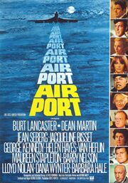 DHS- Airport 1974 all-star cast movie poster