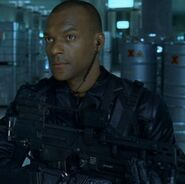 DHS- Colin Salmon in Resident Evil (2002)