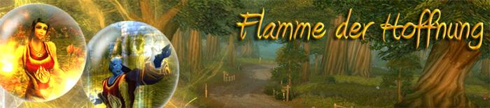 Banner flamme