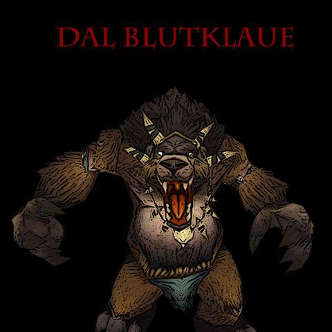 Dal Blutklaue war der Anführer der Distelfelle im Eschental. Von ihm erbeuteten die Schwarzkiefer Shou's Fangzahn.