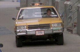 DH3- John McClane & Zeus stunt doubles visible during car chase scene