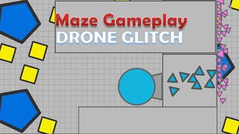 Maze Gameplay - Drone GLITCH -