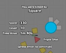 Triple Shot Death