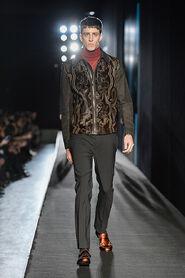 FW13-Milan-Mens-Black-Gold-catwalk-14