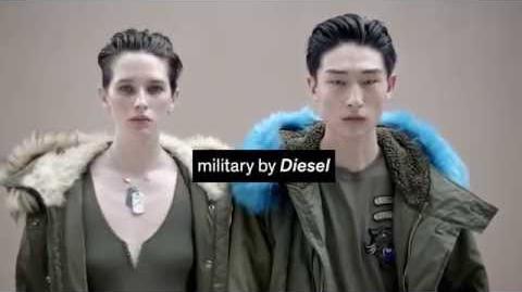 Sara Cummings Diesel Brand Film Military