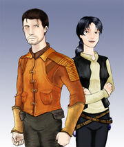 Carth and Revan by Scila