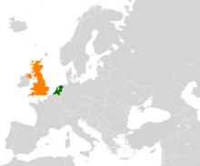 Netherlands United Kingdom Locator