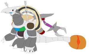 Gaiamon Armor Mode