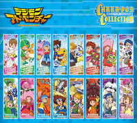 Digimon Adventure Chara-Pos Collection
