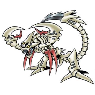 SkullScorpionmon b