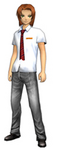 Marcus Damon (School Uniform) dm