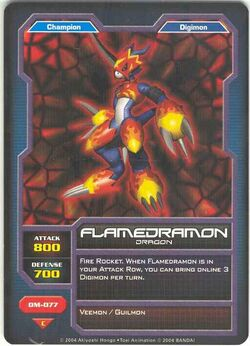 Flamedramon DM-077 (DC)