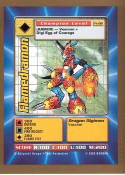 Flamedramon Fx-08 (DB)