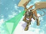 Pegasusmon's Equus Beam AttackAnimation