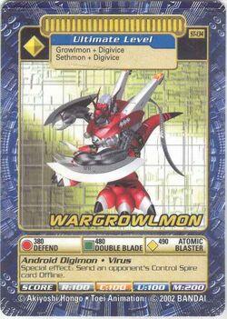 WarGrowlmon St-134 (DB)