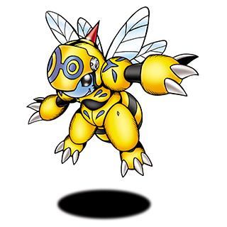 Honeybeemon Digimonwiki Fandom Powered By Wikia