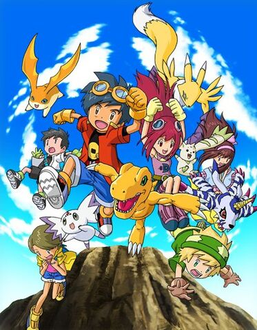 File:Digimon Story Lost Evolution characters.jpg