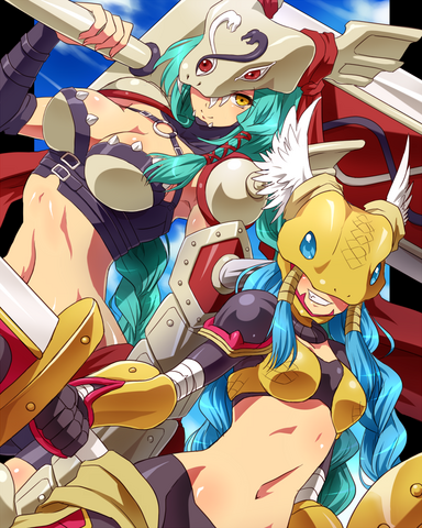 File:Digimon - Minervamon and Minervamon 2010.png