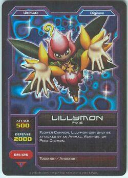 Lillymon DM-126 (DC)