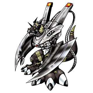 BlackWarGrowlmon b