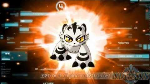 Siberimon Reboot Evolve to Vayumon
