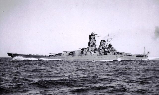 File:Yamato during Trial Service.jpg