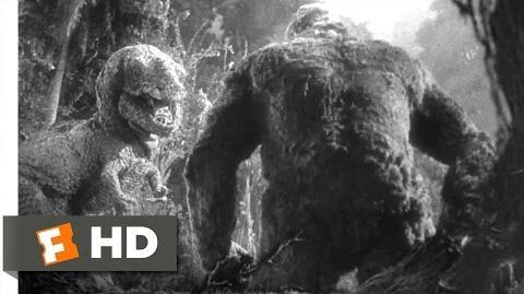 King Kong (1933) - Kong vs