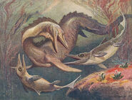 Mosasaurus ichthyosaurus