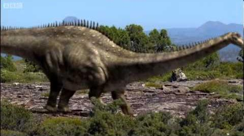 Dinosaur mating rituals - Walking with Dinosaurs in HQ - BBC