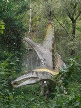 Spinosauro del Parco Natura Viva 2015 (1)