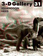 3D gallery Iguanodon herd 1