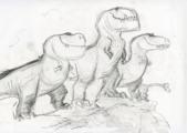 Good Dinosaur T-rex sketch