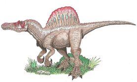 Spinosaurus Fanart