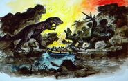 Prehistoric boatride