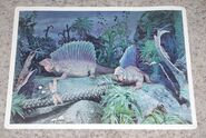 Primeval World Edaphosaurus card front