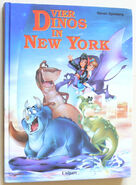 Vier Dinos in New York book