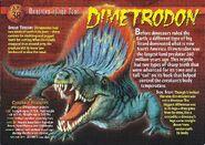 Dimetrodon front