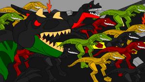 Mutant Dinos Attack