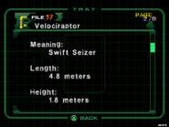 Velociraptor (dc2 danskyl7) (2)