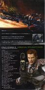 DINO CRISIS 3 ORIGINAL SOUNDTRACK - booklet pages 6-7