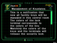 Management of keyplates (1)