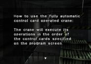 Instruction Manual for the Crane (2)