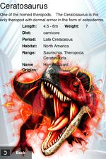 Album Super Rare Blitz Ceratosaurus