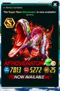Super Rare Afrovenator