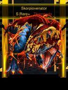Super Rare Skorpiovenator in Blitz cage