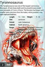 Album SS Rare Tyrannosaurus