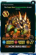 Super Rare Euoplocephalus in Announcements