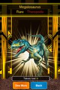 Rare Megalosaurus