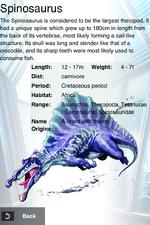 Album Rare Blitz Spinosaurus