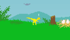 Exclamation mark Dino Run